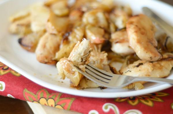 Baked Apple Chicken