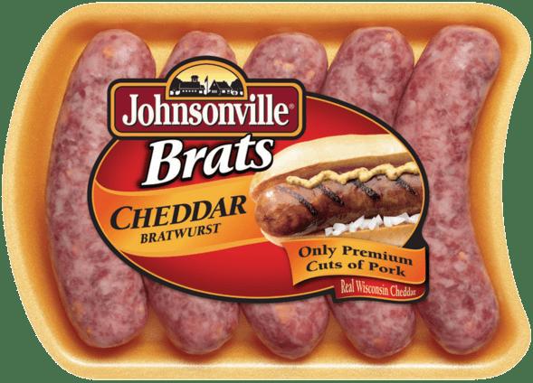 Slow Cooker Brats #JohnsonvilleKitchens #Sponsored