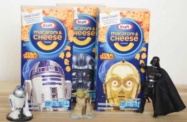 Star Wars Mac & Cheese #Youknowyouloveit #ad