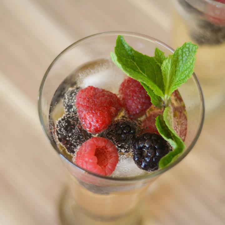 Ginger Berry Mocktail