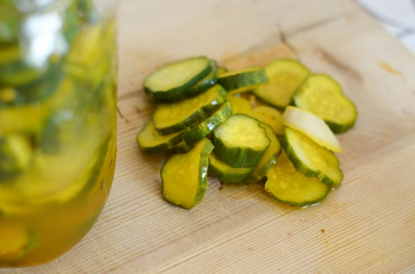 Easy Refrigerator Pickles I Mommy Hates Cooking