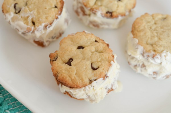 Gluten Free Ice Cream Cookie Sandwiches