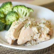 Creamy Chicken & Rice #MinuteMeals #ad