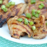 Glazed Chicken Thighs