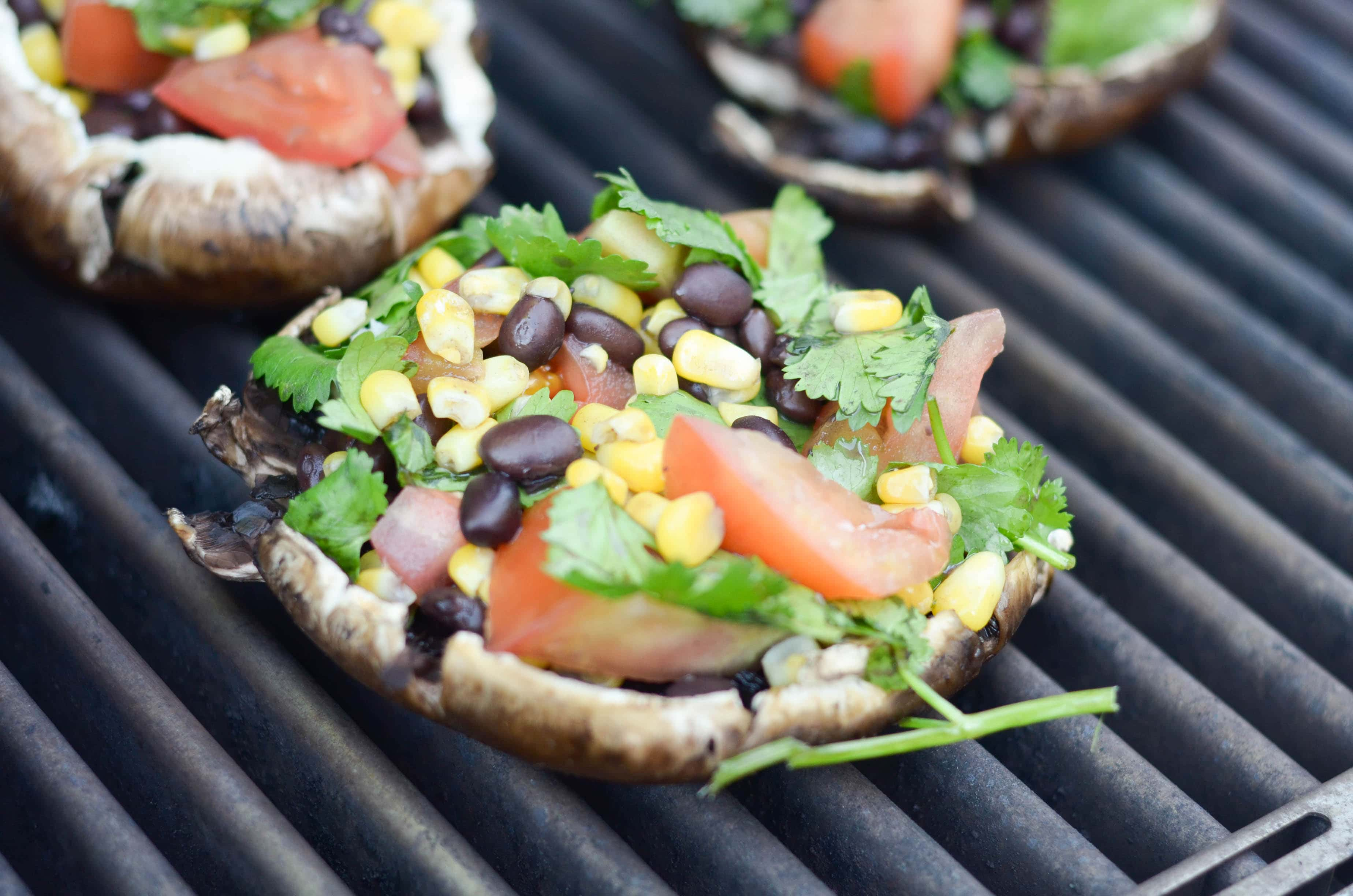 Grilled Portobello Mushrooms - Mommy Hates Cooking