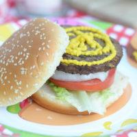 Mustard Rub Burgers