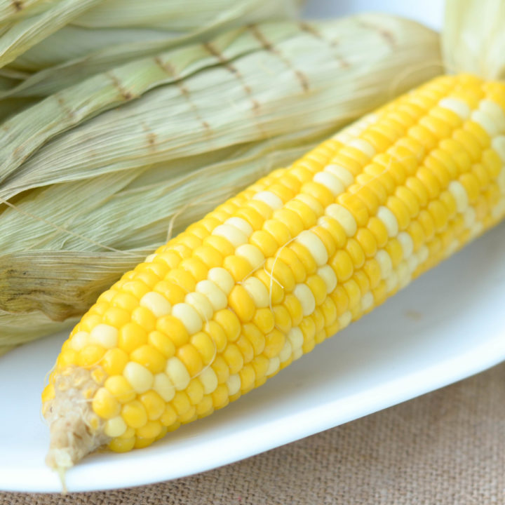 Roasted Corn on the Cob