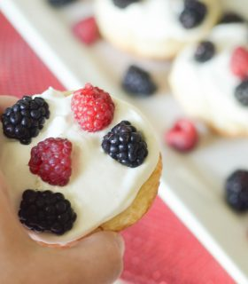Berry Cookie Pies