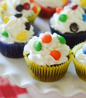 Candy Filled Cupcakes