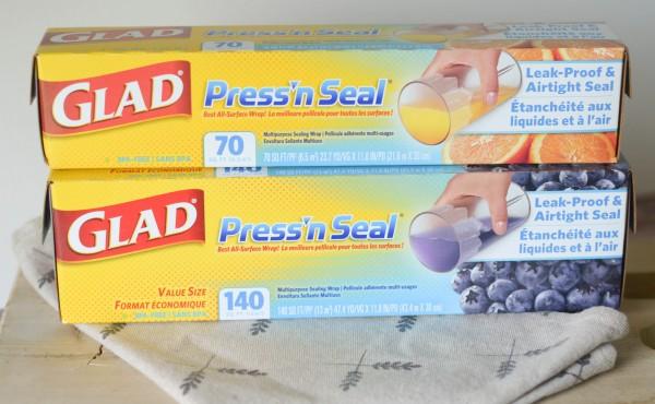 Keep Food Fresh with Glad Press'n Seal #PressNSealHacks #Pmedia #ad