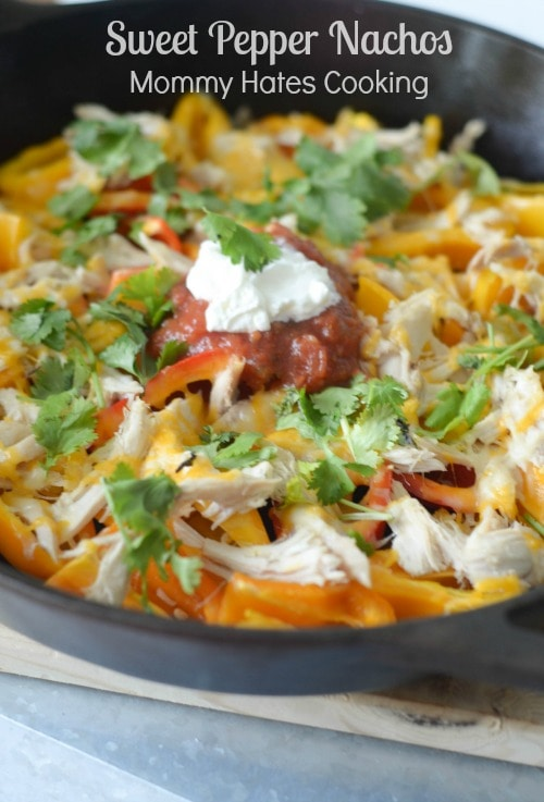 Sweet Pepper Nachos