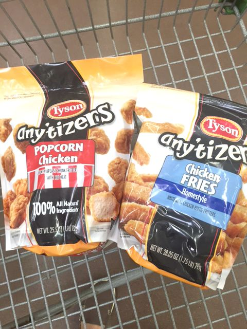 Chicken Fries Tacos Tyson® Any'tizers® #TysonProjectAPlus #ad
