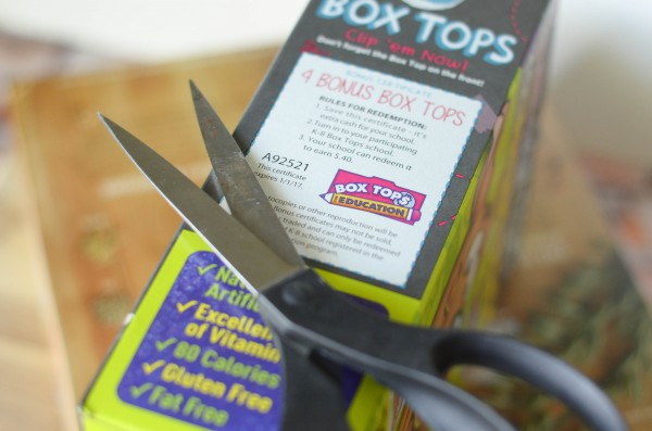 Save Big for a Bright Future with Box Tops #ad #boxtops