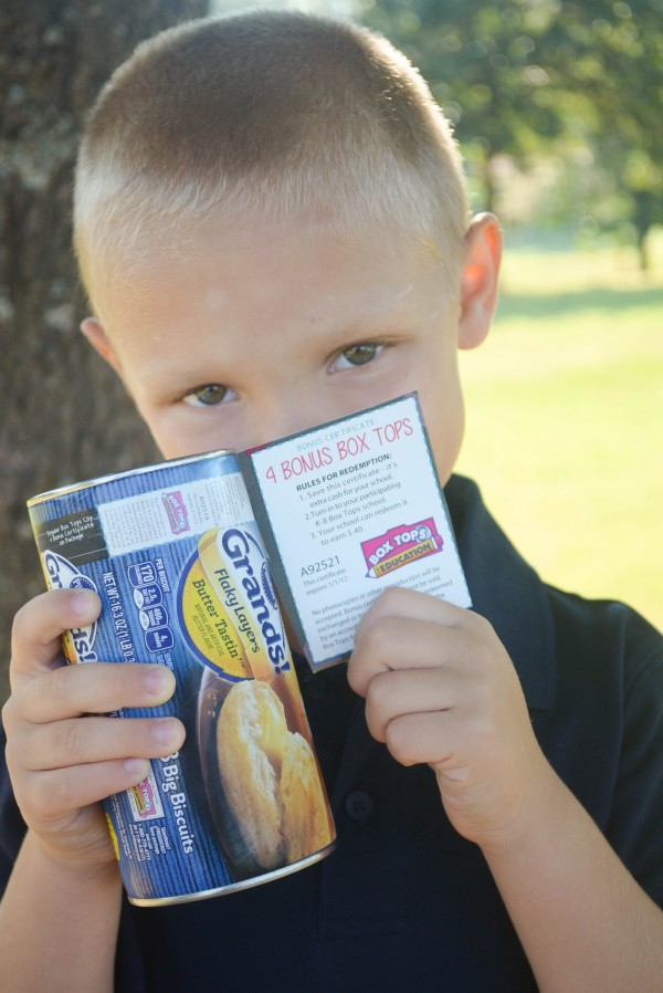 Having Fun with Box Tops #sponsored #boxtops