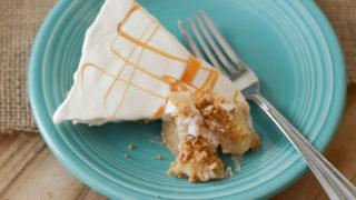No-Bake Caramel Apple Pie