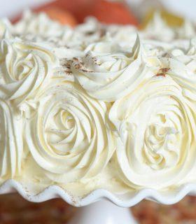 Pumpkin Pie Ice Cream Cake