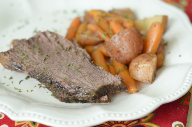 Slow Cooker Maple Roast