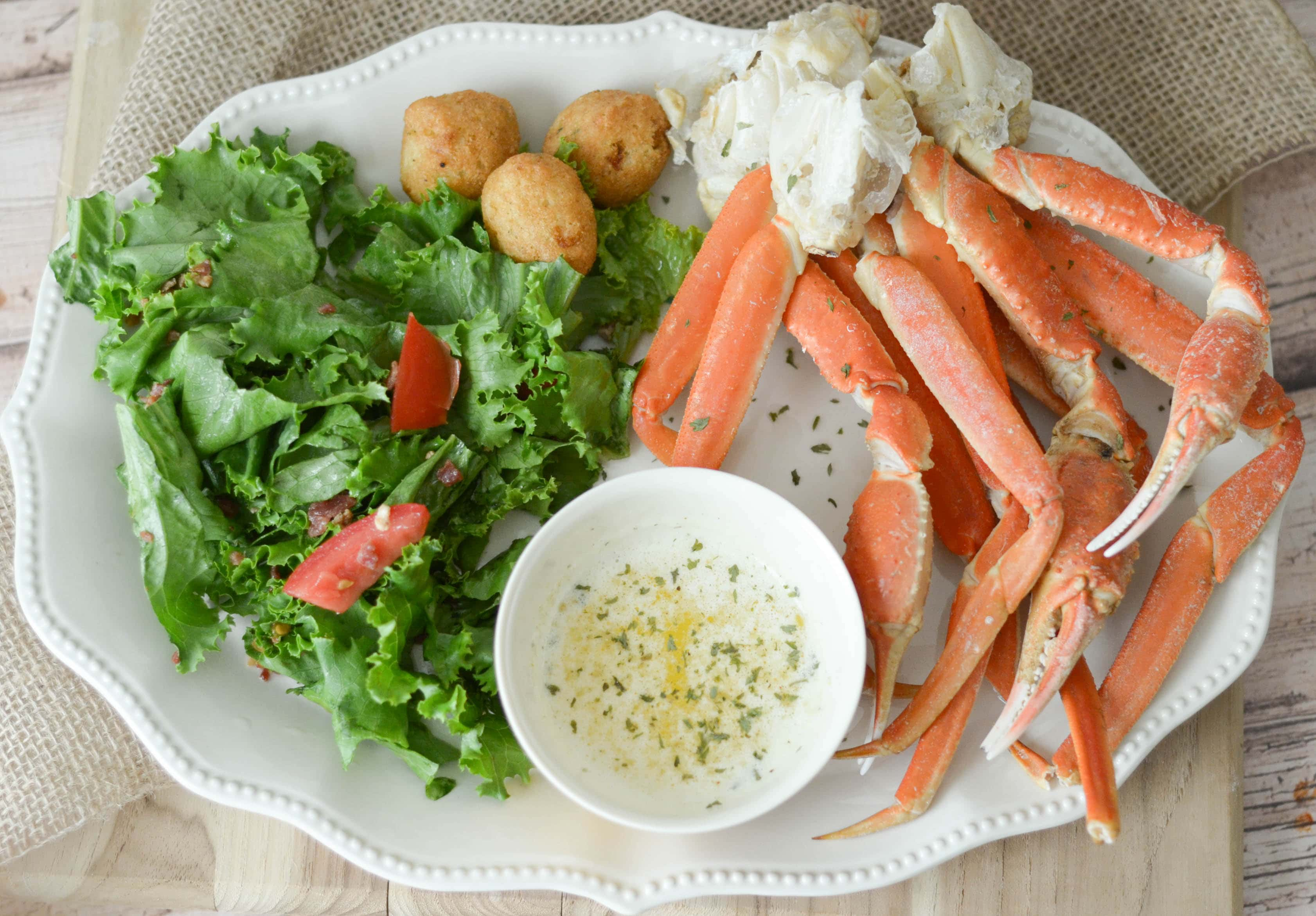 Snow Crab Legs with Garlic Butter - Mommy Hates Cooking