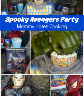 Avengers: Age of Ultron Spooky Halloween Party