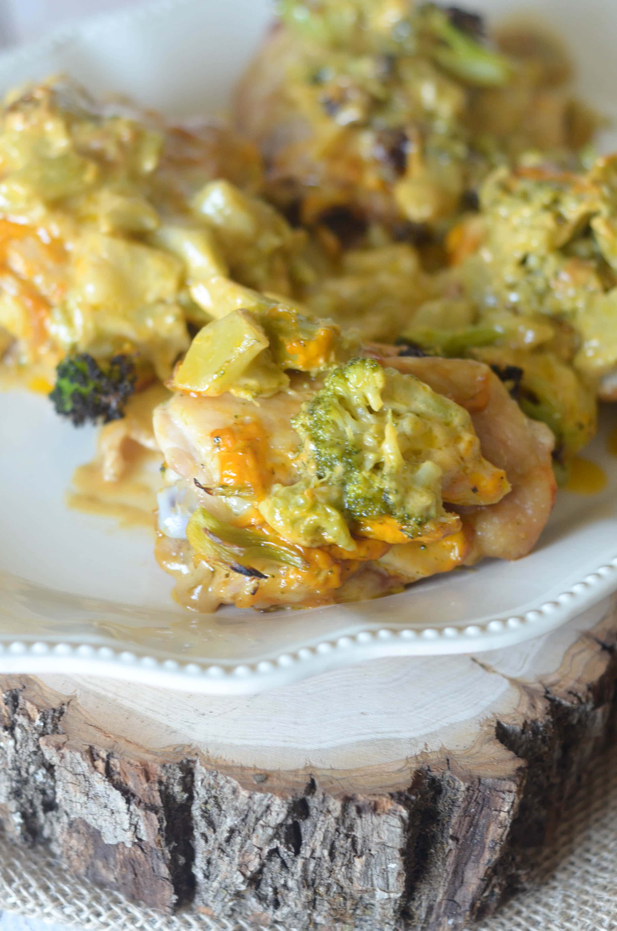 Cheesy Broccoli and Chicken