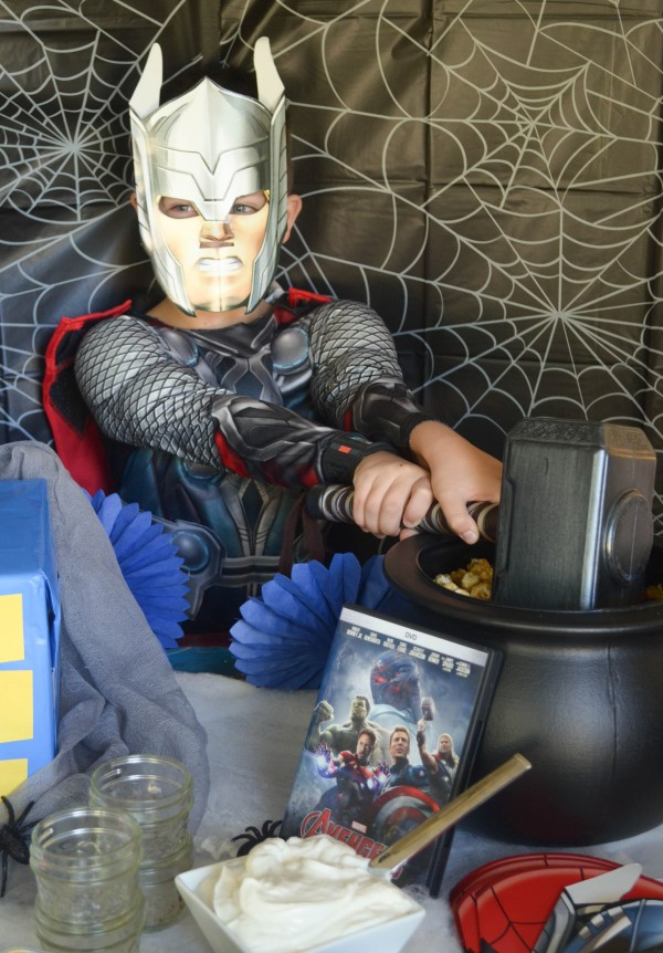 Avengers: Age of Ultron Spooky Halloween Party #AvengersUnite #ad