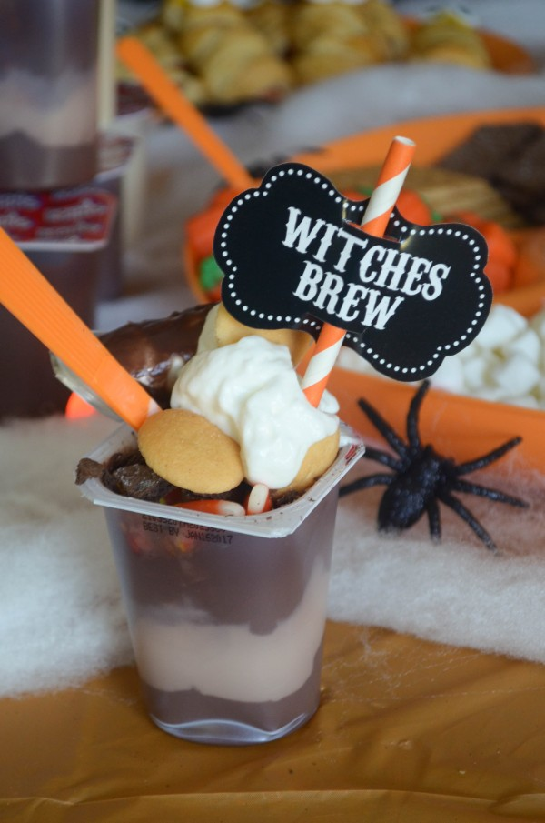 Spooky Snack Pack Halloween Party #SnackPackMixins #ad