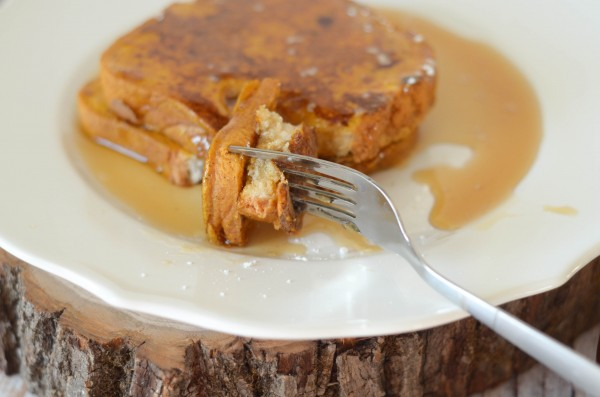Pumpkin French Toast #HamiltonBeach #Spon