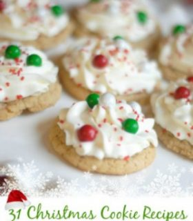 {Christmas Cookies} 31 Christmas Cookie Recipes