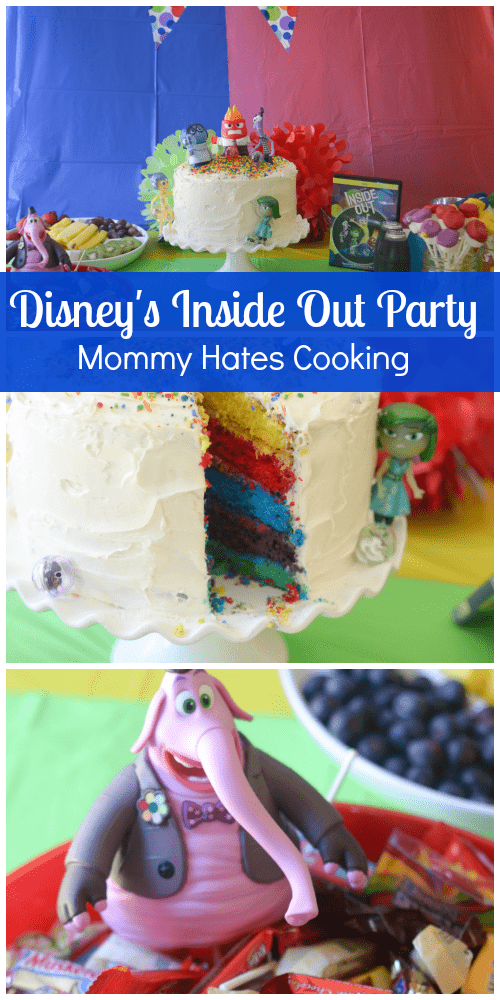 Disneys Inside Out Party Mommy Hates Cooking