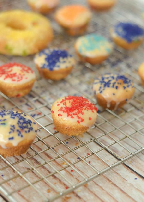 Gluten Free Cake Mix Donuts