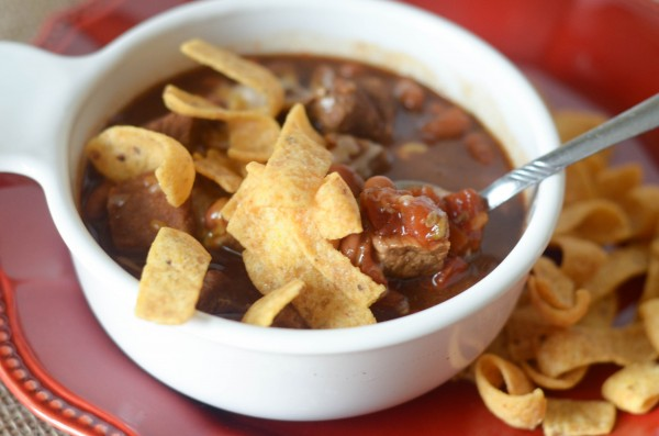 Slow Cooker Chili Beef Stew