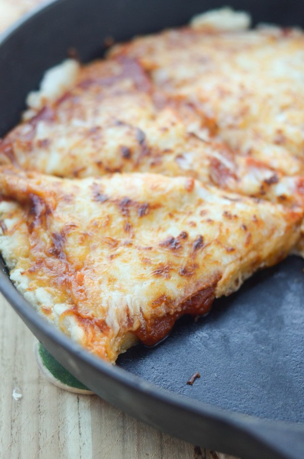 Deep Dish Pizza - This Deep Dish Pizza can be made gluten-free or regular depending on your preference!