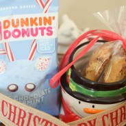 Peppermint Mocha Biscotti & Coffee Gift Idea