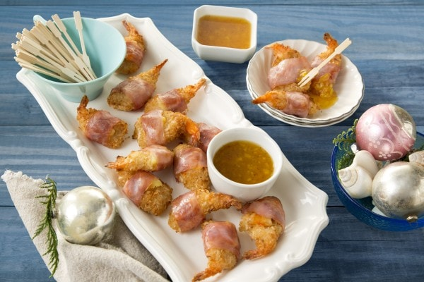 Giveaway + Ham Wrapped Coconut Shrimp with SeaPak #SeaPak #ad