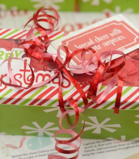 FREE Printables & Spread Cheer for the Holidays