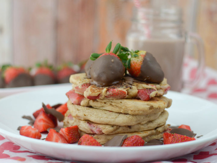 Chocolate Covered Strawberry Pancakes Mommy Hates Cooking