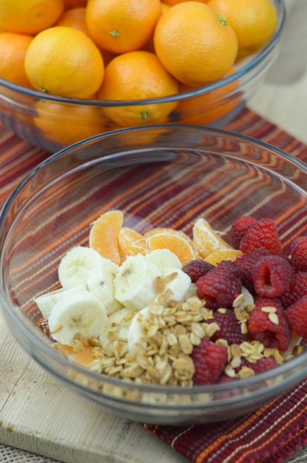 Honey Tossed Fruit Salad with Cuties #IWantCuties #SweetasCandy #ad
