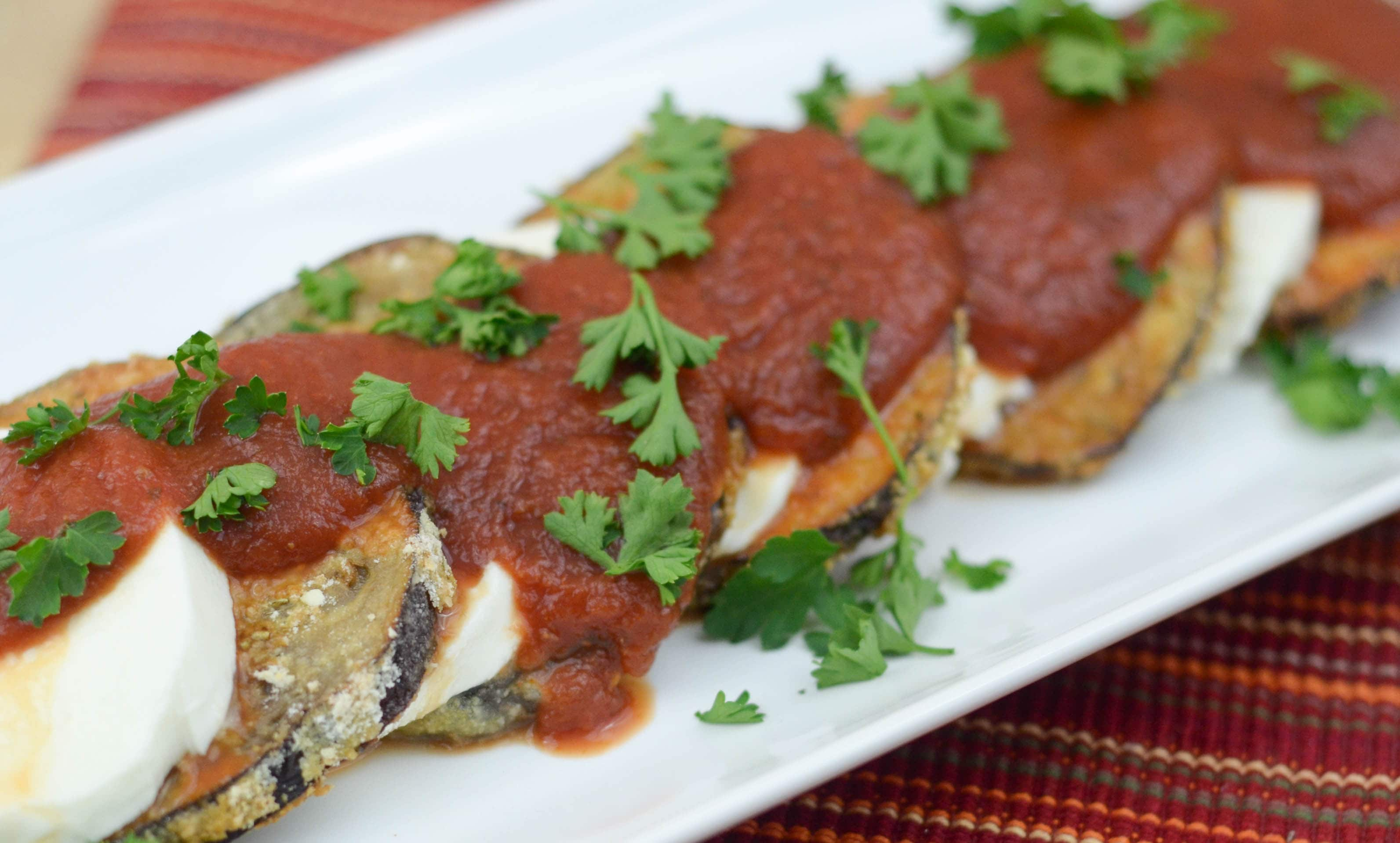 Eggplant Parmigiana - Mommy Hates Cooking