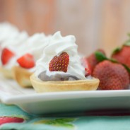 Mixed Berry Cheesecake Tarts