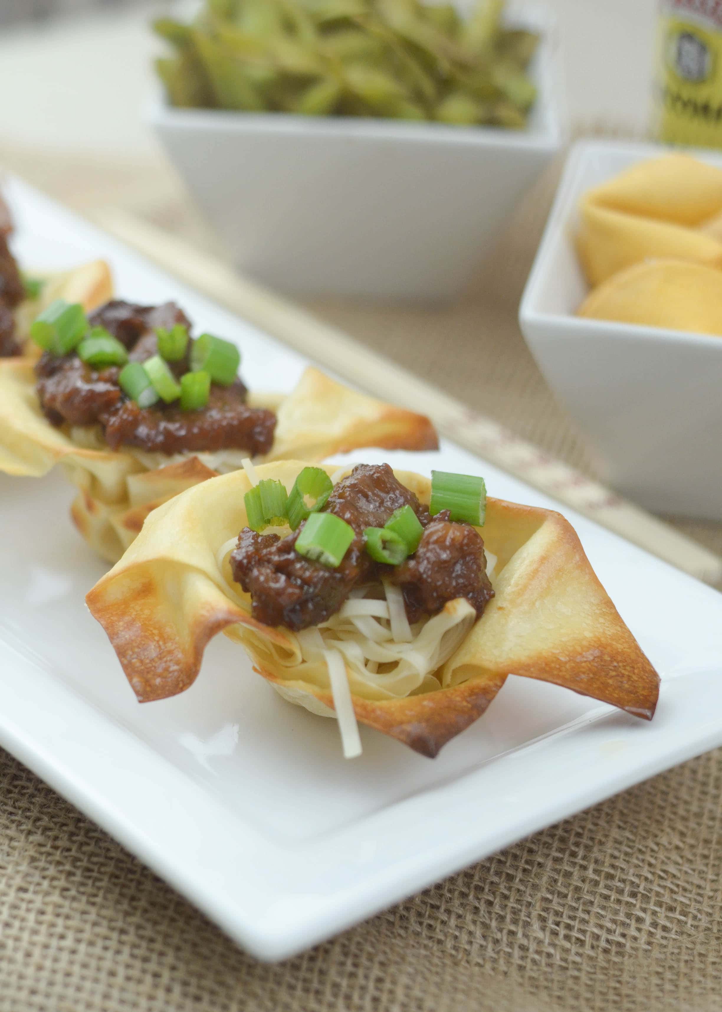 Mongolian Beef Egg Roll Bowls - Mommy Hates Cooking