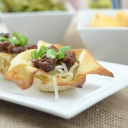 Mongolian Beef Egg Roll Bowls