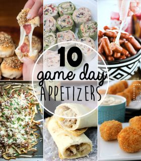 10 Game Day Appetizers