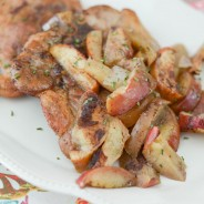 Baked Apple Cinnamon Pork Chops