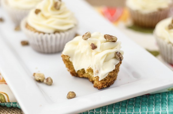 Carrot Cake Cupcakes #CreativeFoodies