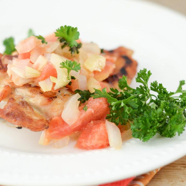 Grapefruit Salsa Chicken
