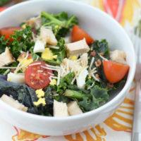 Grilled Chicken Kale Salad