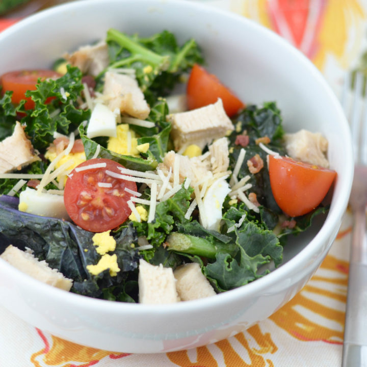 Grilled Chicken Kale Salad