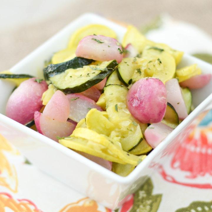 Roasted Radish Salad