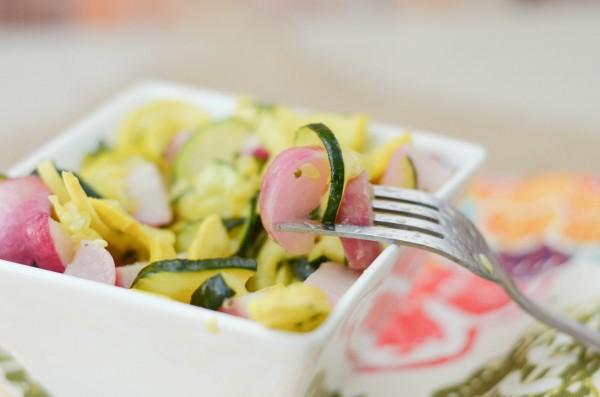 Roasted Radish Salad #Partner