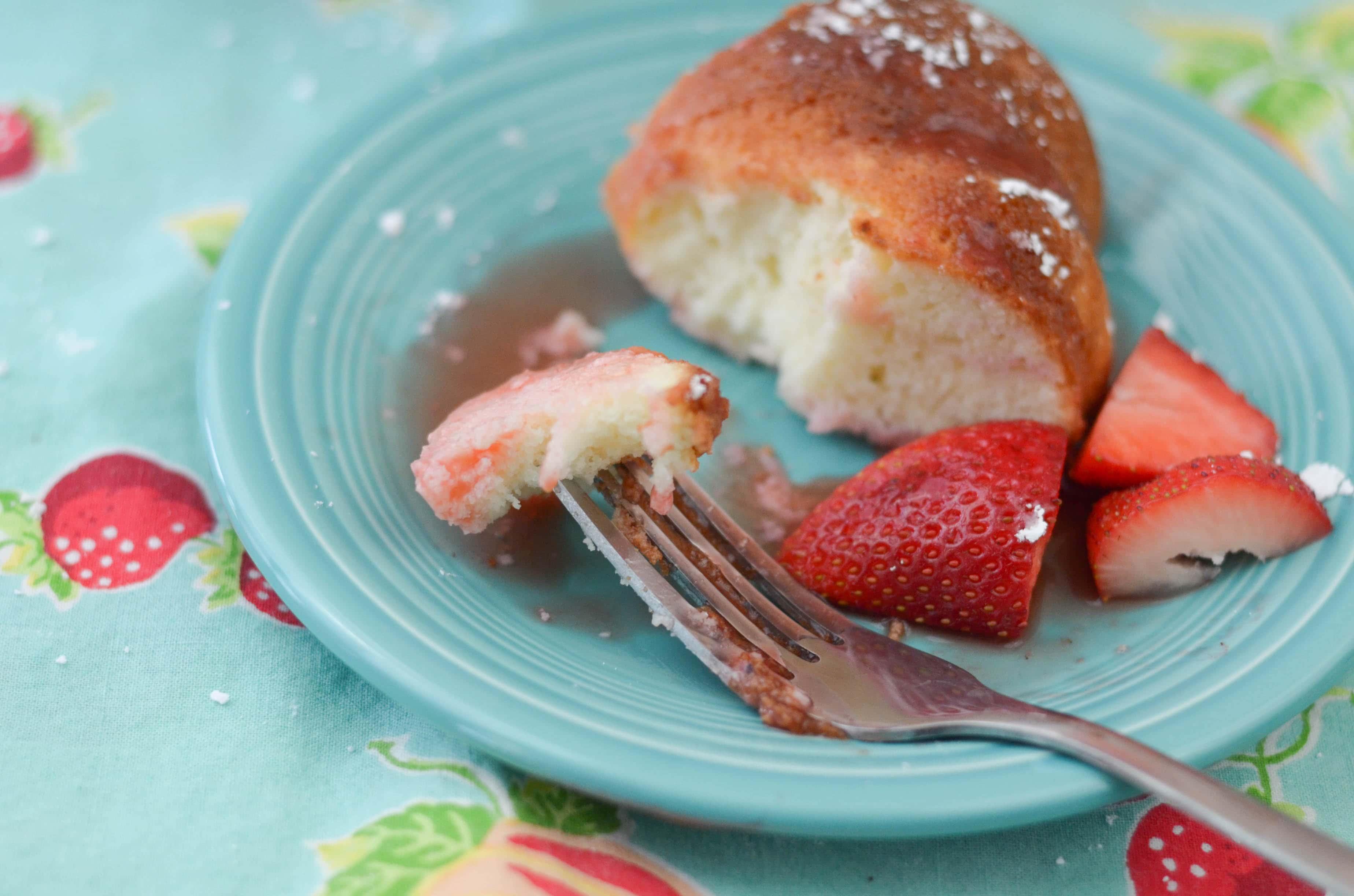 Homemade Strawberry Glaze For Angel Food Cake